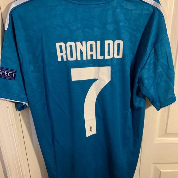 detailed look 6a485 8e994 Juventus Away Jersey #7 Ronaldo 19/20 Size L NWT